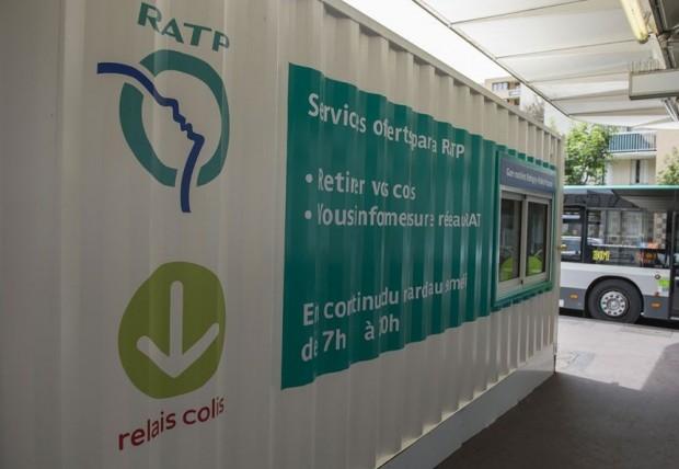 Points de retrait en gare la ratp et relais colis - Suivi colis point retrait ...